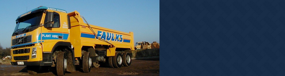 Heavy duty tippers from AE Faulks.