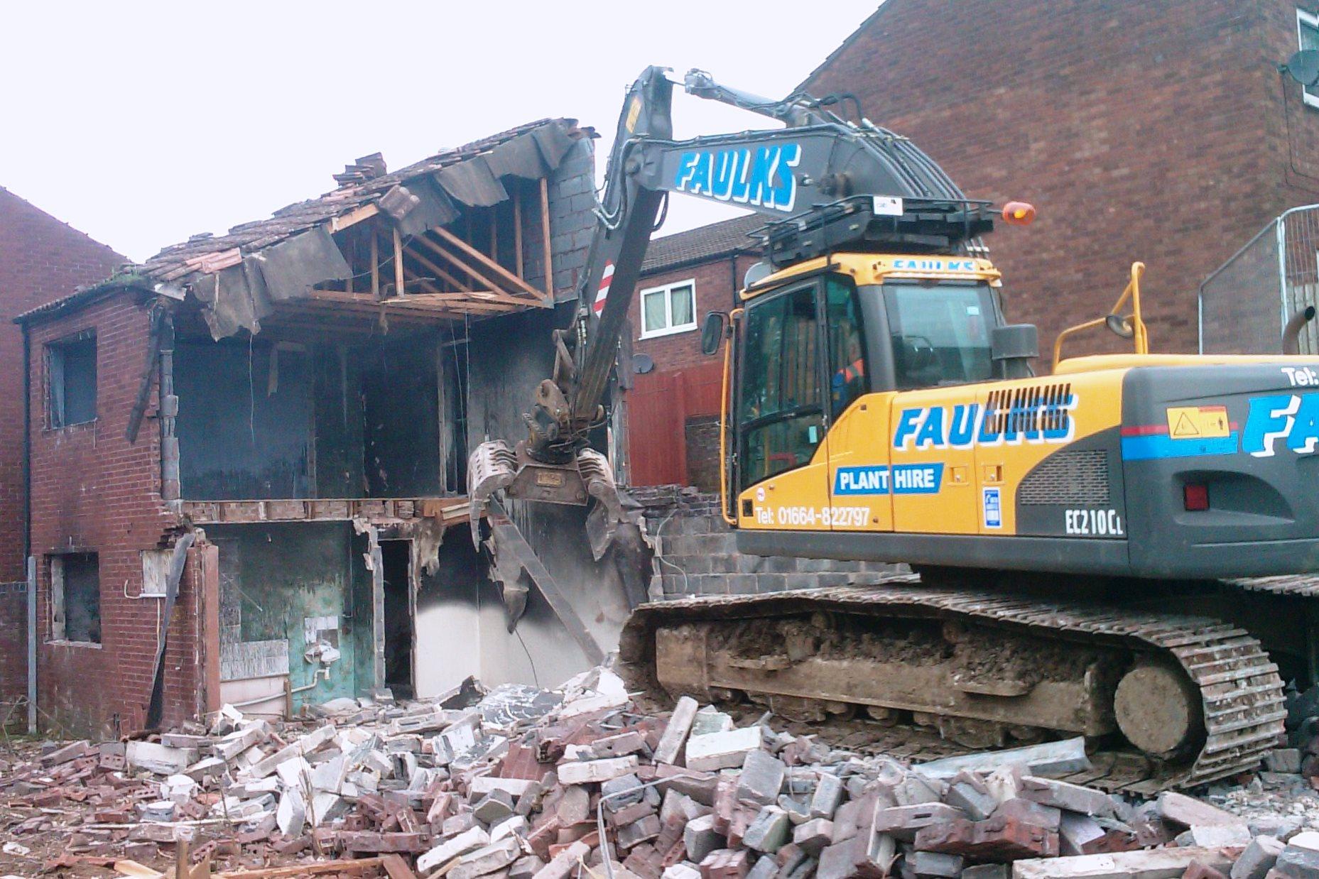 Tracked Excavators hire