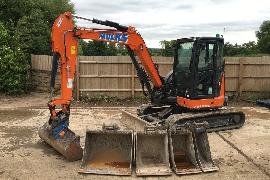 Mini & Midi Digger Hire in Nottingham, Leicester, Derby ...