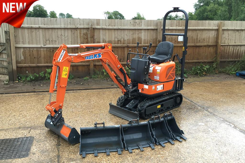 Micro digger with new a e faulks ltd micro digger with new publicscrutiny