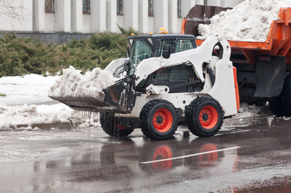 Snow Removal on the Street