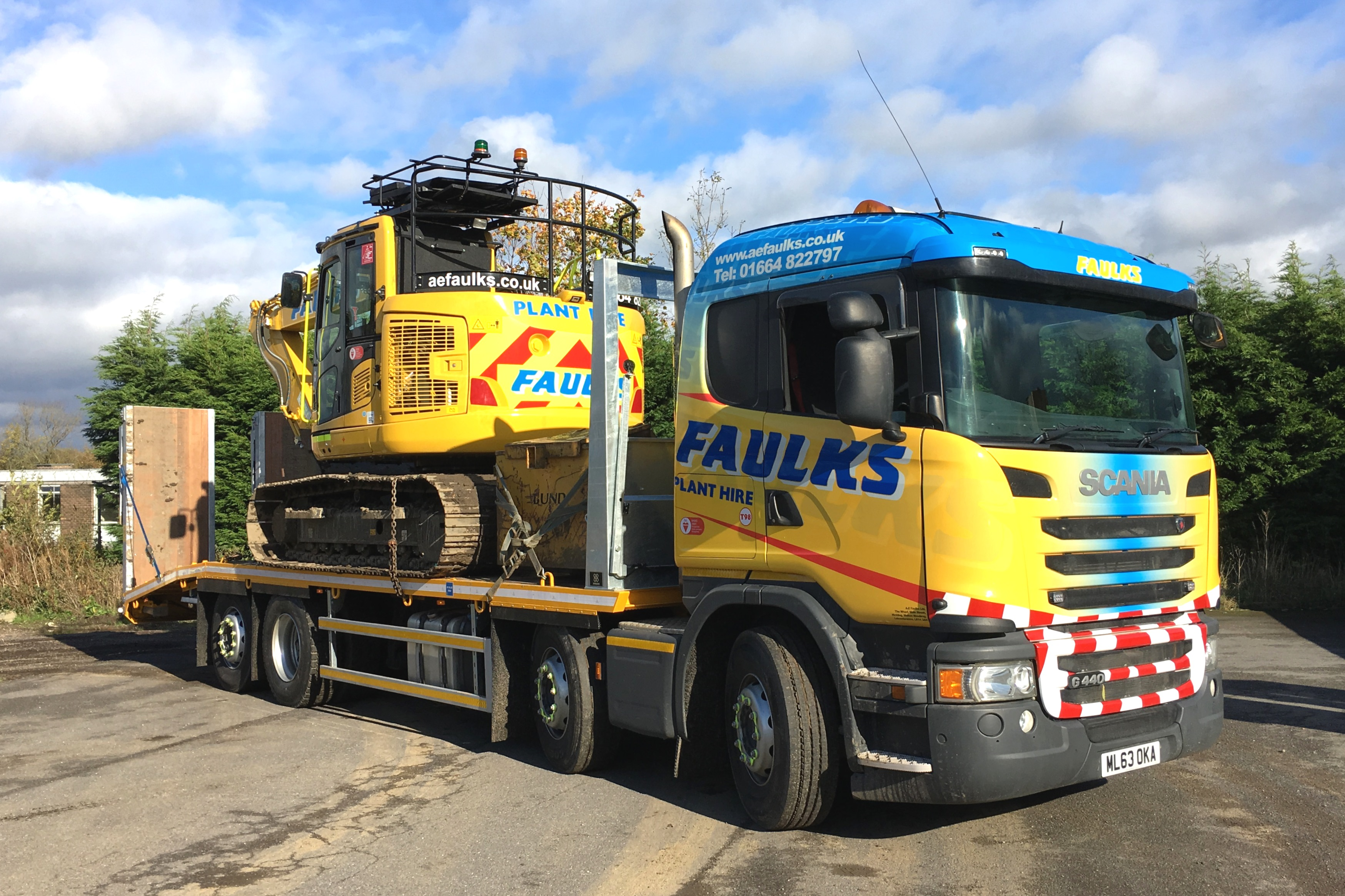 Scania Plant Lorry 1