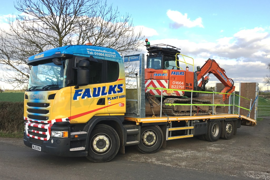 AE Faulks Plant Lorry