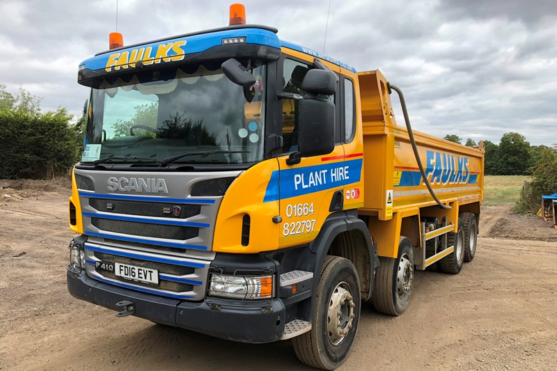 Tipper Lorry hire