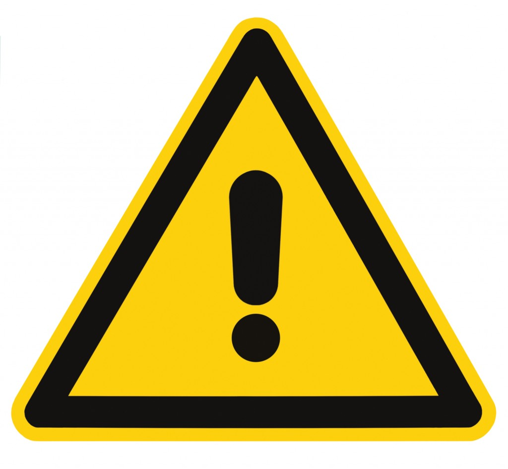 Danger And Hazard Sign