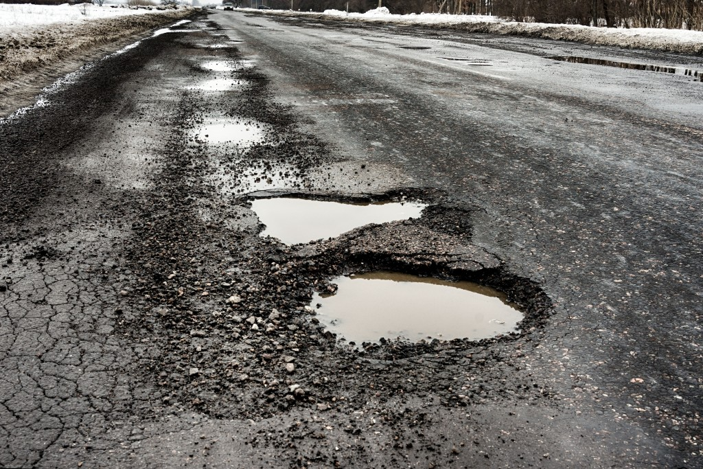A Road Full of Potholes