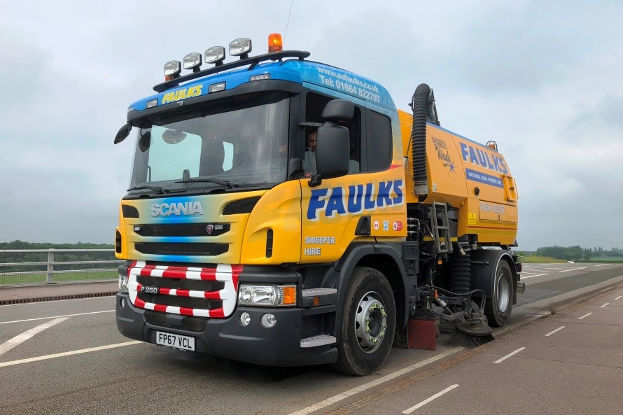 Highly Spec'd Sweepers from AE Faulks